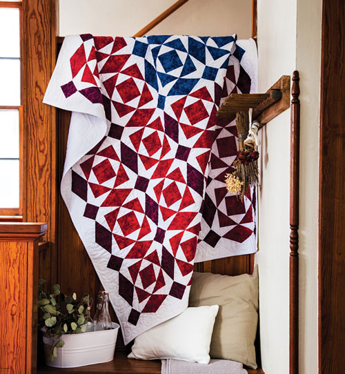 Quiltmaker Magazine - Yankee Doodle Quilt Kit