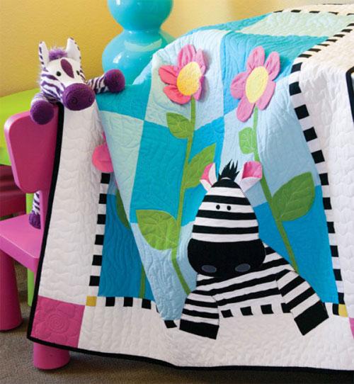 Quiltmaker Magazine - Zoe Zebra Quilt Pattern Download