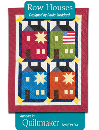Row Houses quilt