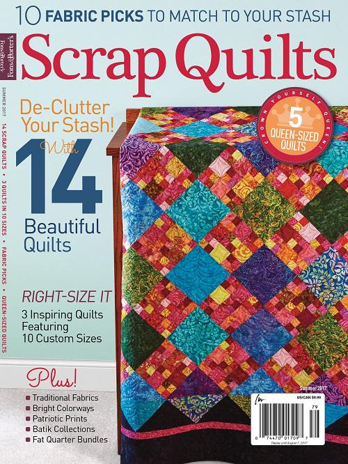Scrap Quilts Summer 2017 Cover