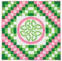QQK15038 Friday Free Quilt Patterns: Celtic Twist Lap Quilt