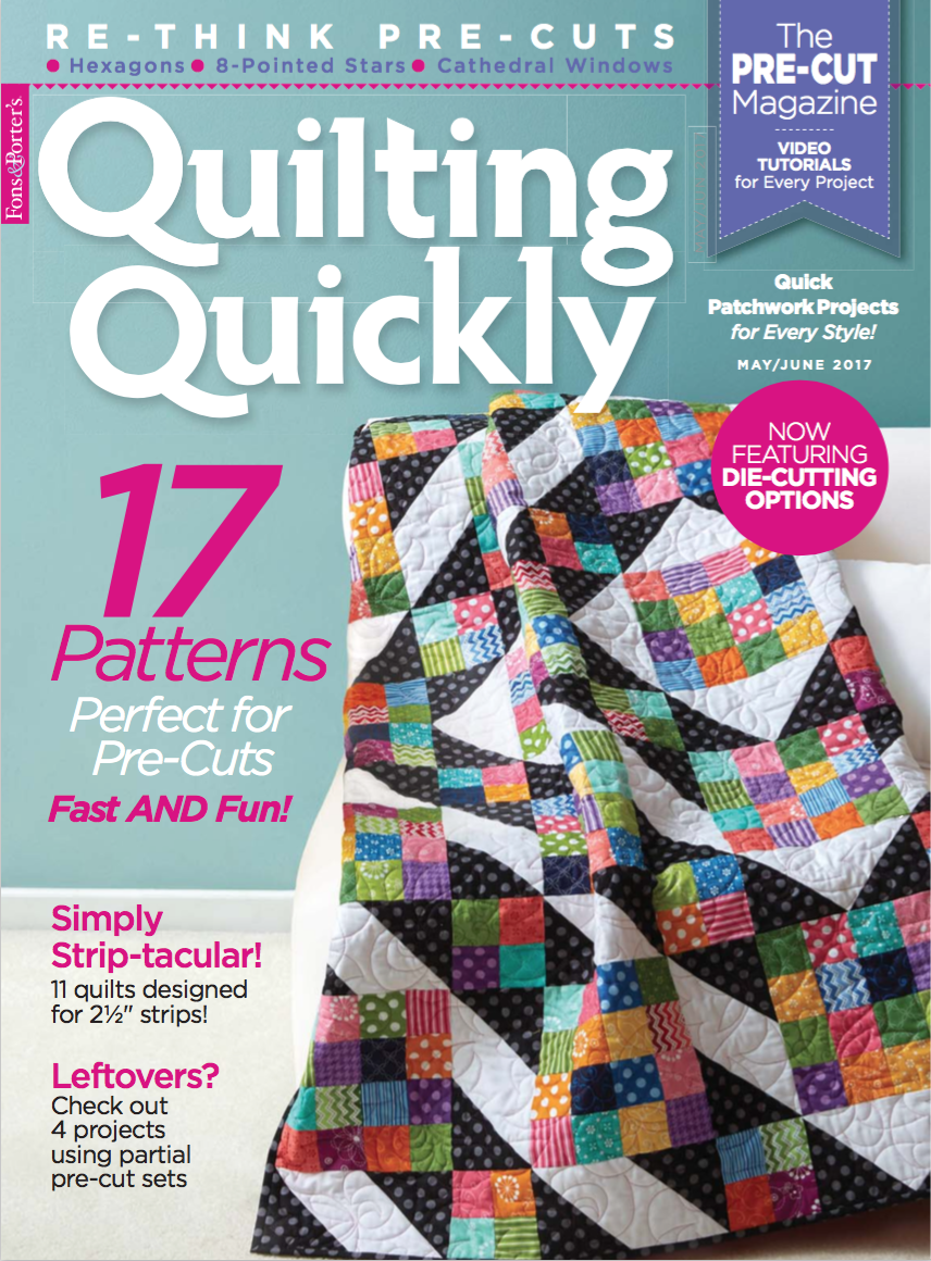 Fons & Porter Quilting Magazines - Fons & Porter - The Quilting ... : quick quilt magazine - Adamdwight.com