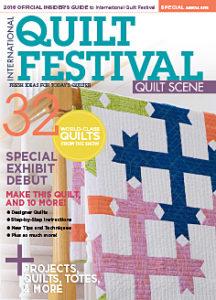 crossed paths, ramirez, cover, quilt scene, international quilt fesitval