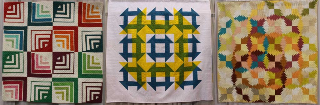 Modern quilts with great value changes