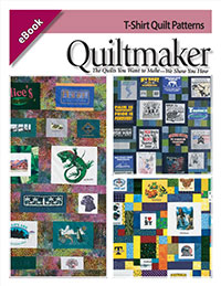 QuiltPatternseBook T Shirt Quilts: Pieces from the past and the comfort of home.