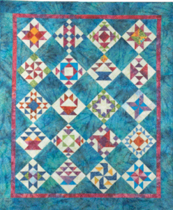 Quilt Made With Quilt Blocks