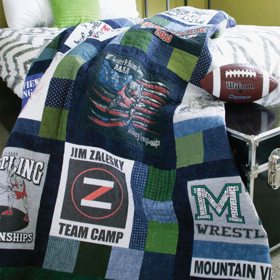 Quilted Memories -- T-Shirt Quilts DIY