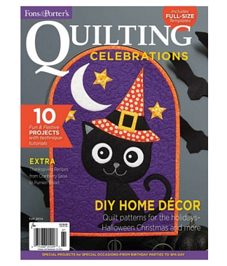 Pattern corrections fons porter the quilting company quilting celebrations fall 2016 fandeluxe Choice Image