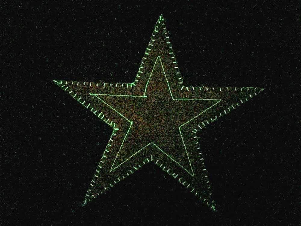 Quilting the Quilt - Glow Star