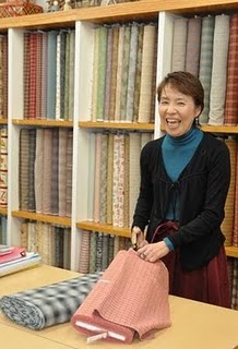 REIKO KATO IN SHOP Checking out the Tokyo quilting scene