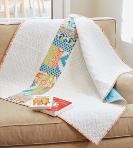 Rail Fence Free Quilt Pattern