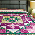 Rebecca's Charm: Gorgeous Medallion Bed Quilt Pattern