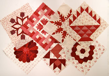 Red and white1 Quilt Exchanges: Types, Tips and More