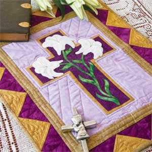 Rejoice Easter Wall Hanging Quilt Pattern The Quilting
