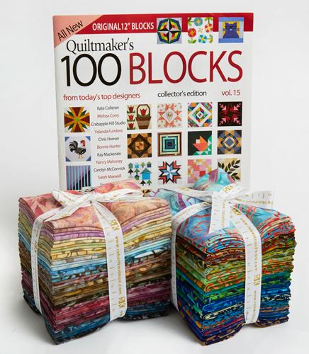 Robert Kaufman Quiltmaker's 100 Blocks Vol. 15 Blog Tour: Day 1