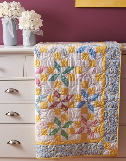 Ruby's Starflower Quilt