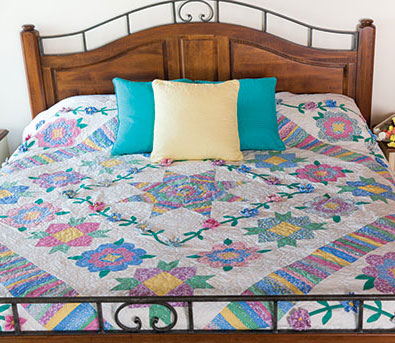 RubysGarden The Best Block Of The Month Quilts Of 2017