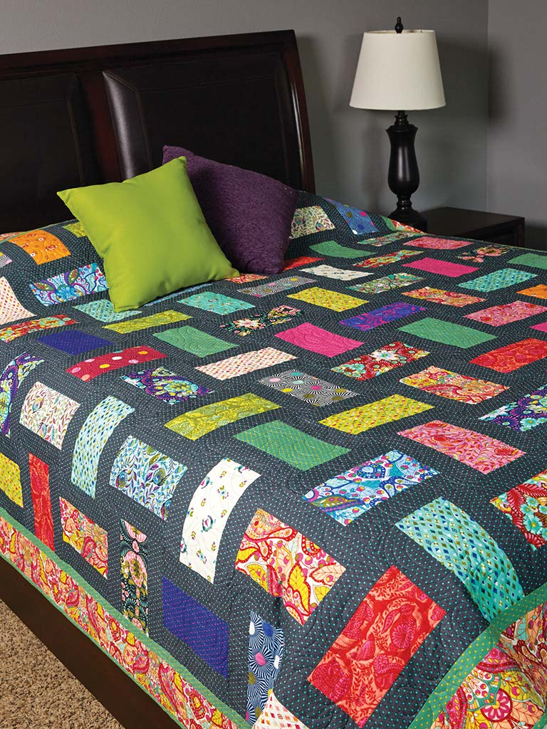 Running Stitches Quilt Fons Amp Porter The Quilting Company