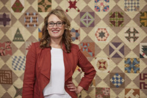 Sara Gallegos, host of the Love of Quilting 3100 Series