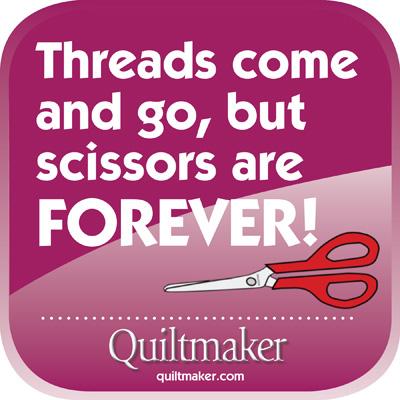 Scissors Are Forever