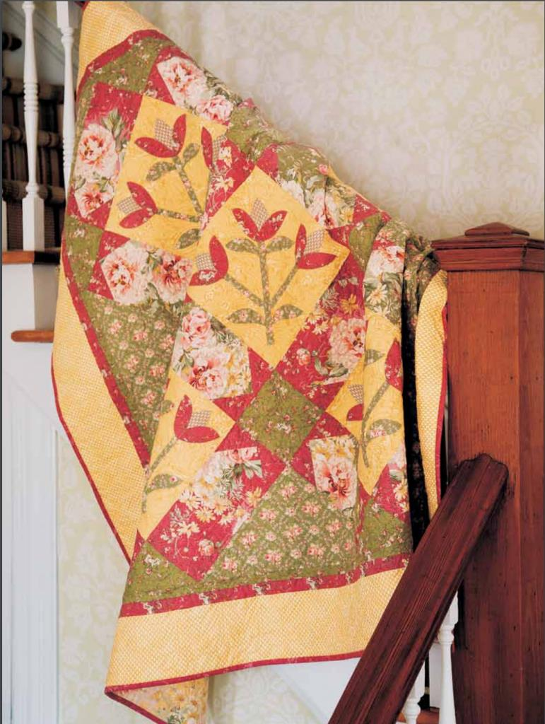 Cottage Garden Quilt The Quilting Company