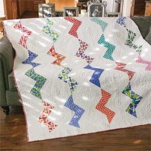 Seaside Breeze: Fresh Modern Full Size Quilt Pattern - The ... : seaside quilt - Adamdwight.com