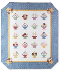 1930 Basket Quilt Pattern