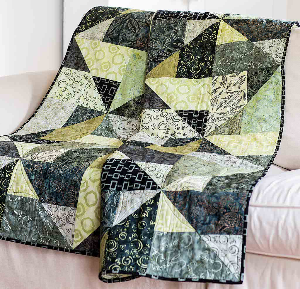 Shake, Rattle & Roll Quilt Pattern