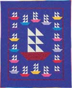 Starring Ships! FREE Baby Quilt Pattern