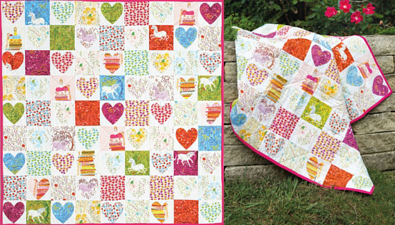 Skipping Hearts Quilt