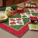S'mittens Table Runner: FREE Fast-Fused Appliquéd Mittens Pattern