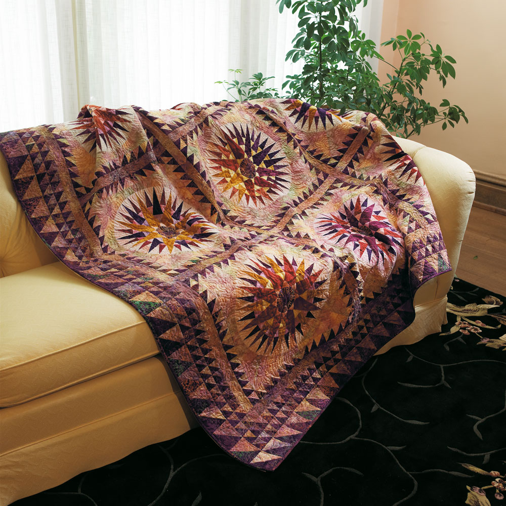 Spice Islands Compass Quilt Pattern From Fons Amp Porter