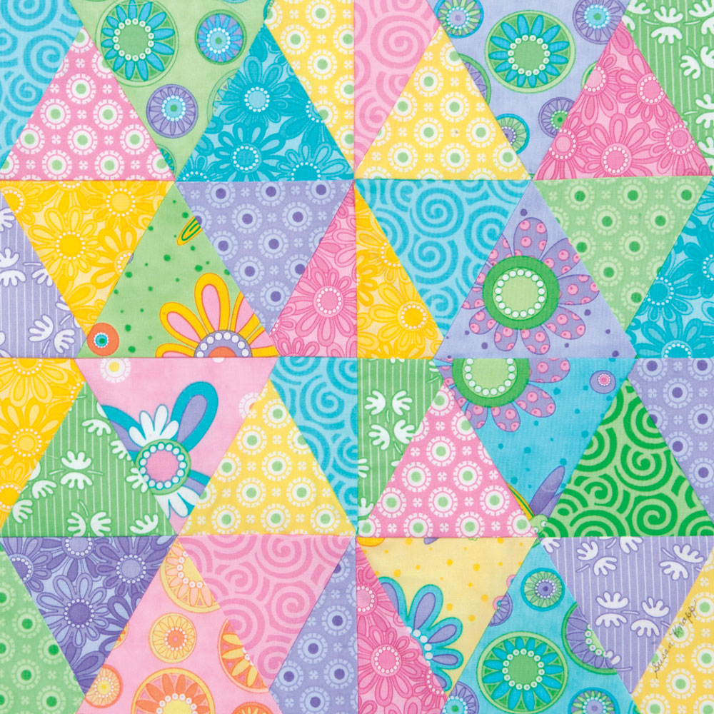 SpringFever 10 Spring Quilt Patterns & Project Ideas