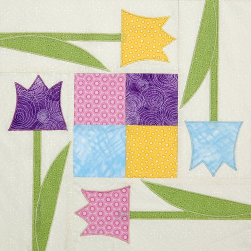 SpringSquared 10 Spring Quilt Patterns & Project Ideas
