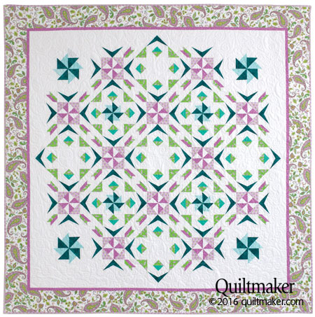 SpringtimeSpin 10 Spring Quilt Patterns & Project Ideas