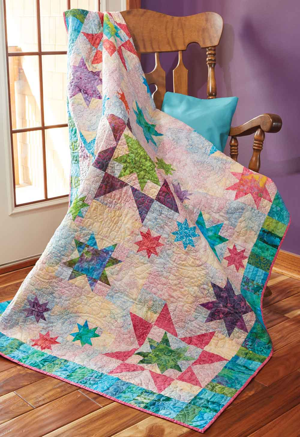Sprinkling Of Stars Quilt