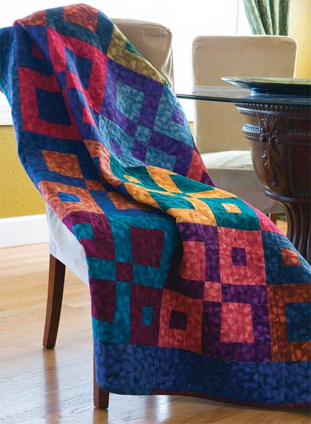 Friday Free Quilt Patterns Square Dancing Lap Quilt
