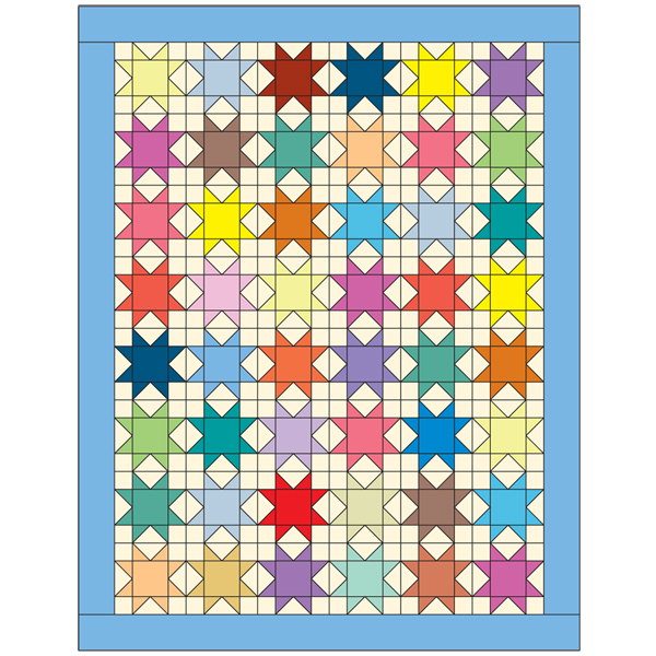 Friday Free Quilt Pattern Star Bright Mccalls Quilting Blog