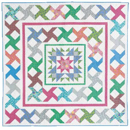 Stars FLAT 450px Friday Free Quilt Patterns: Stars a Spin