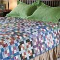 Stone Tiles Queen Size Quilt Pattern