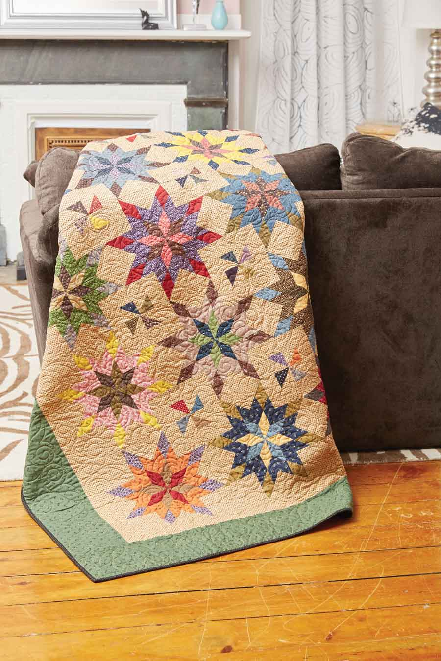 Summer Fireworks Quilt Fons Amp Porter The Quilting Company