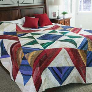 SuperStrings300px1 Friday Free Quilt Patterns: Super Strings Wall or Baby Quilt Pattern