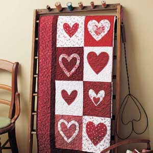 Sweet Hearts Top Ten Valentine Quilts and Projects