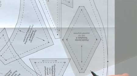 Tuesday Tutorial: Making and Using Quilting Templates - The ... : templates for quilting - Adamdwight.com
