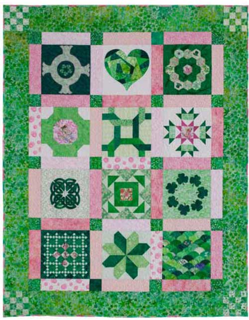 Tales of Ireland 500px Friday Free Quilt Patterns: Tales of Ireland