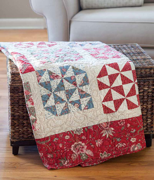 BLOCK Friday: Broken Dishes Quilt Block - Fons & Porter | Quilting ...