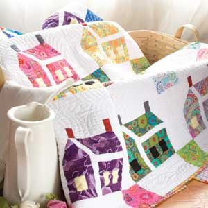 The House that Kaffe Built Large House (Quilts) Beautiful