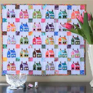 The House that Kaffe Built: FREE Mini Quilt Pattern - The Quilting ... : mini quilt patterns - Adamdwight.com