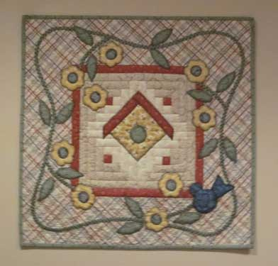 Thimble birdhouse 392px Block of the Month Quilts Youll Love and More!