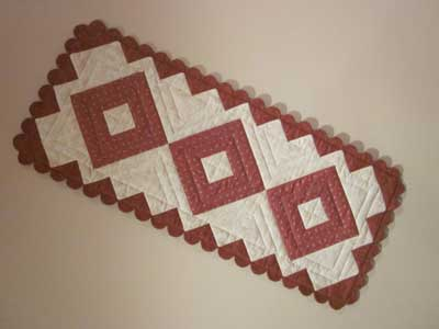 Thimble runner 400px Block of the Month Quilts Youll Love and More!